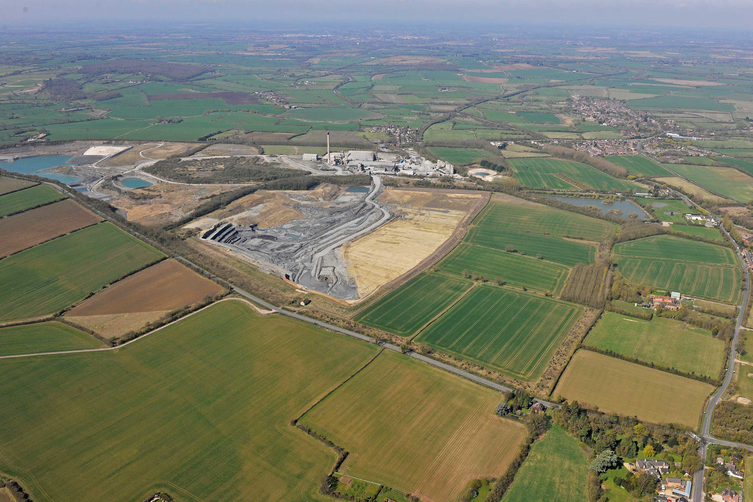 Photo. Our Southam quarry in the UK is one of 10 that is taking part in this pilot project