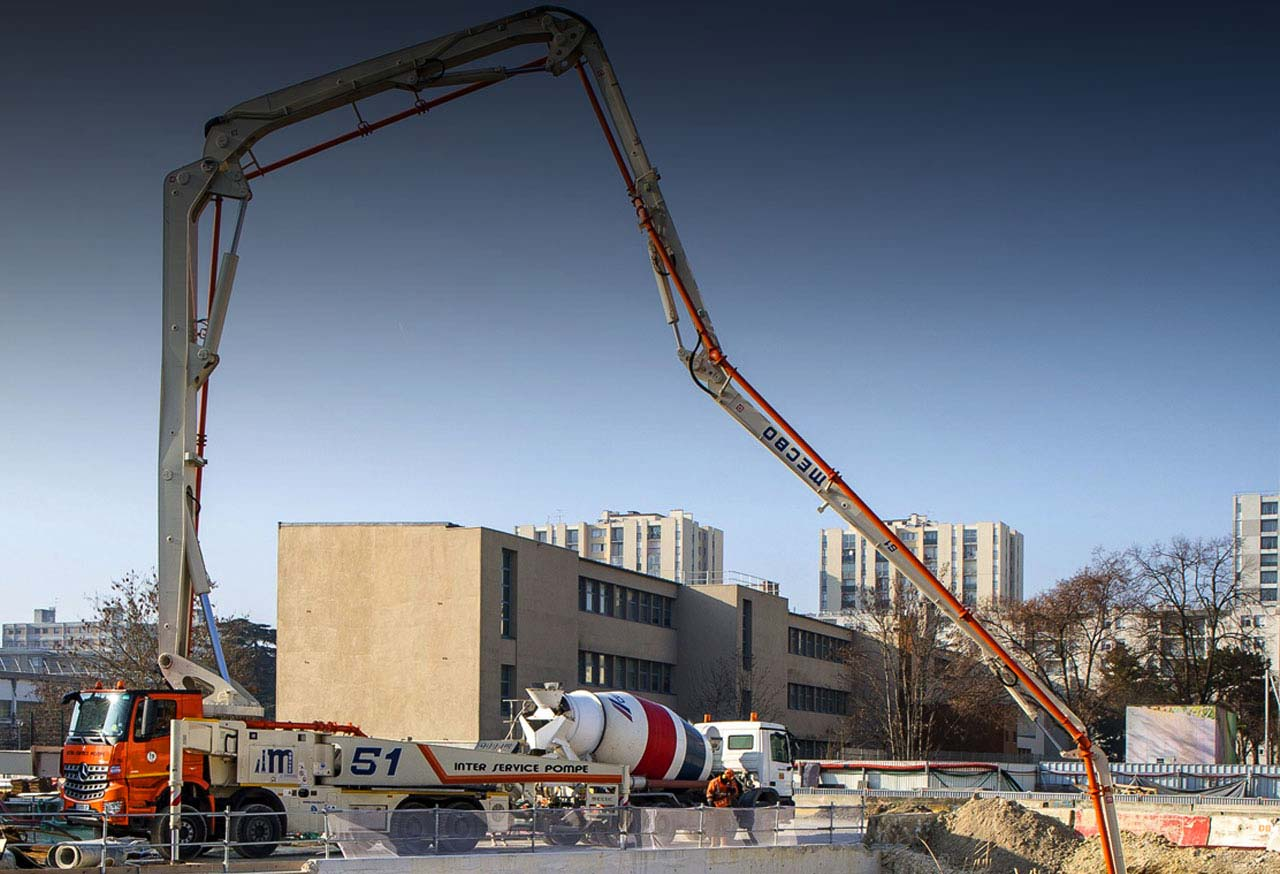 CEMEX supplies special concretes for the Grand Paris project.   Credits: CEMEX