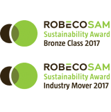Logo de RobecoSAM Bronze Class and Industry Mover Award