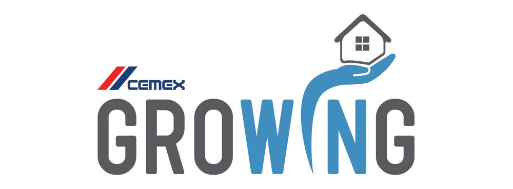 Logo. Cemex growing platform