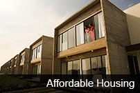 the image is about the different kinds of affordable housing that could receive an award