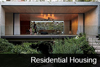 the image is about the different kinds of residentail housing that could receive an award