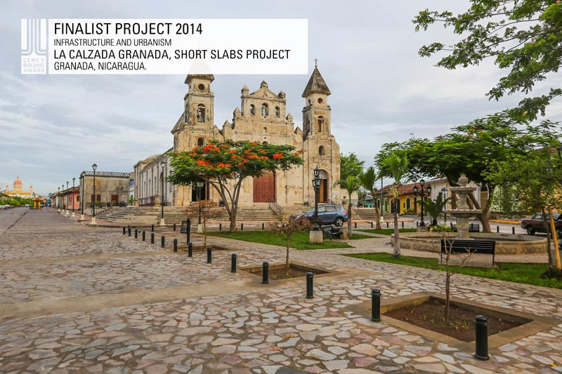 La Calzada Granada, Short Slabs Project