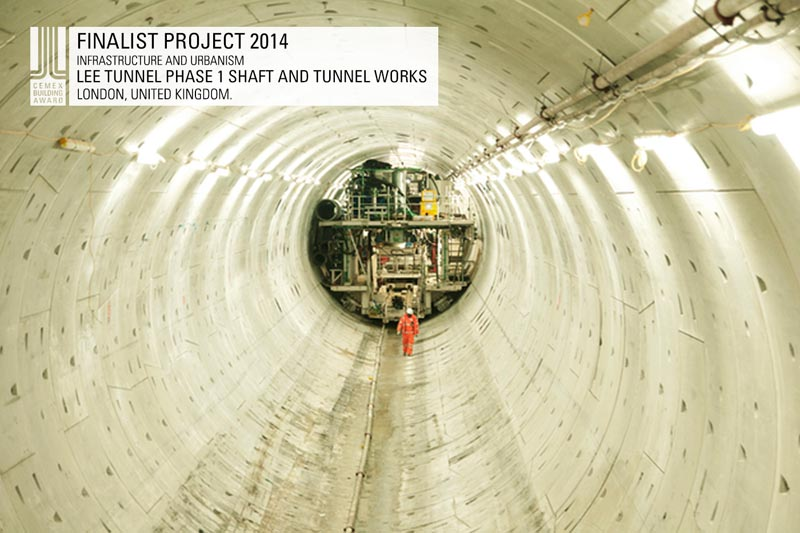 Lee Tunnel- Phase 1 Shaft and Tunnel Works