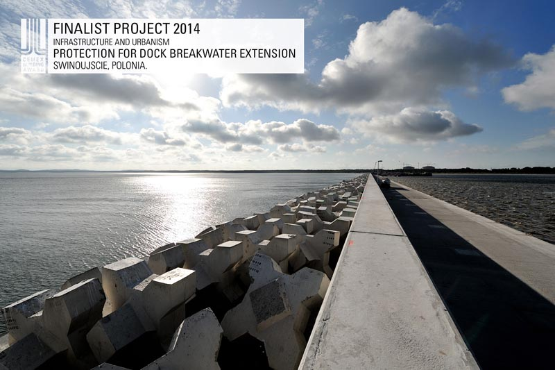 Protection for Dock Breakwater Extension