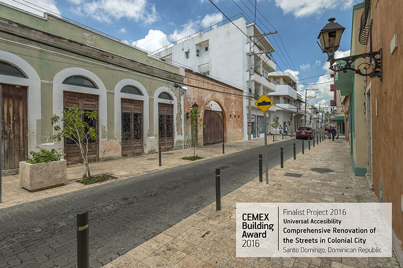 Comprehensive Renovation of the Streets in Colonial City