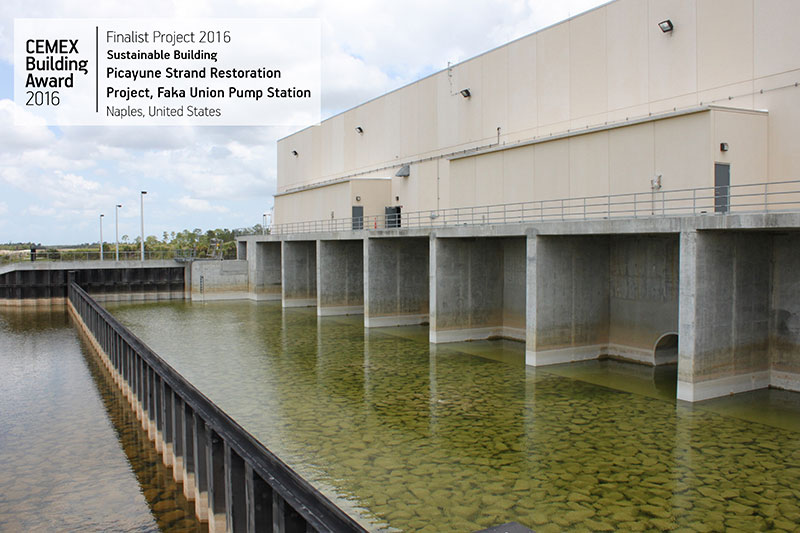 Picayune Strand Restoration Project, Faka Union Pump Station