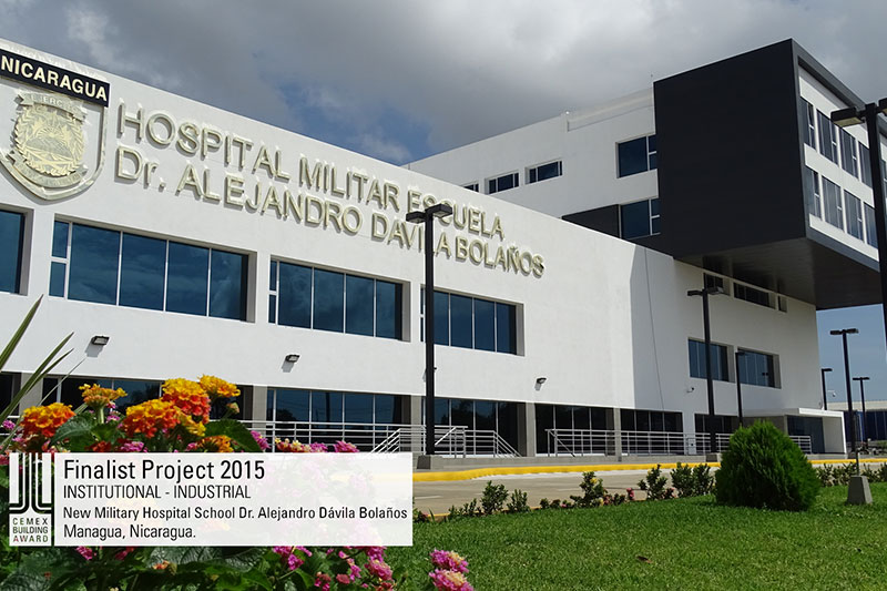 New Military Hospital School Dr. Alejandro Dávila Bolaños