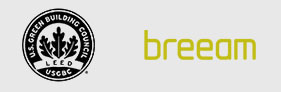 the image shows the logo of breeam