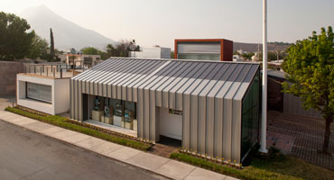 the image shows the BEA Headquarters at Monterrey, Mexico