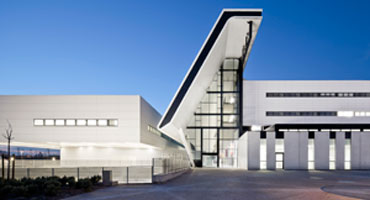 the image shows the Sant Joan de Reus Hospital at Tarragona, Spain