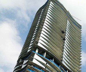 the image shows the residential tower sofia in monterrey mexico